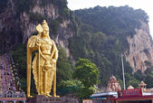 Murugan statue at the Batu Caves, Kuala Lumpur — Stock Photo