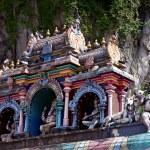 Roof of hindu temple, Batu caves, Kuala lumpur — Stock Photo #9888474
