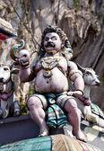 Dio indù - parte della decorazione del tempio — Foto Stock