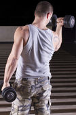 Back Muscles — Stock Photo