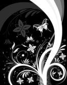 花背景 — 图库矢量图片