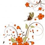 Flower background — Stock Vector #8004217