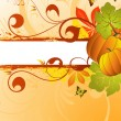 Autumn Frame — Stock Vector