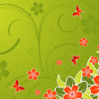 Stockvektor : Floral background
