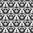 blume seamless pattern — Stockvektor