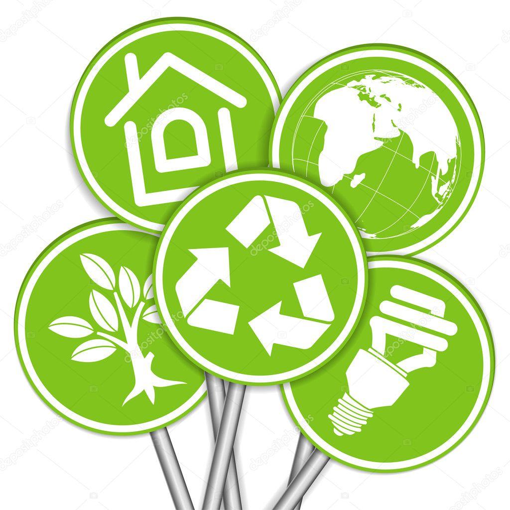 День окружающей среды рисунки символы