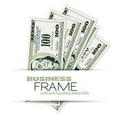 Business Frame — Stock Vector