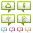Collect Environment Icon - Stock Vector