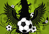 Soccer Ball theme — Vecteur