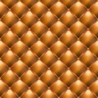 Leather Upholstery Seamless Texture — Vector de stock