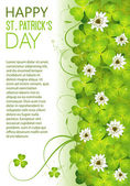 St. Patrick's Day Frame — Stock Vector
