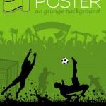 Soccer Poster — Stock Vector #9475600