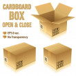 Cardboard Boxes — Stock Vector #9591626