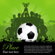 Soccer Poster - Stock Vector