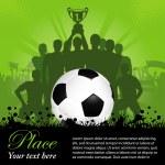 Soccer Poster — Stock Vector #9860677