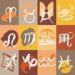 Zodiac sign — Stock Vector