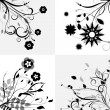 Floral design elements — Stock Vector #10201032