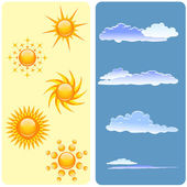 Weather design — Stock Vector