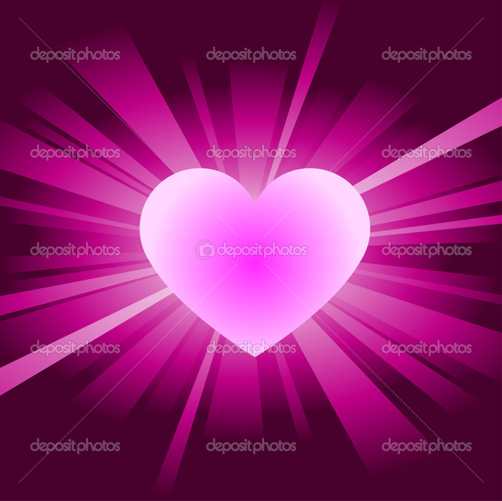 Heart background vector — Stock Vector #10201000