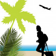 Royalty-Free Stock Imagen vectorial: Tourist design