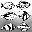 Fish design — Stock Vector