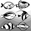 Royalty-Free Stock Imagem Vetorial: Fish design