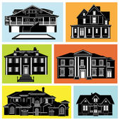 House set — Stock Vector