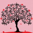 Royalty-Free Stock Imagen vectorial: Love tree