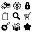 Stock Vector: Shopping icon