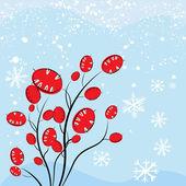 Christmas plant — Stock Vector