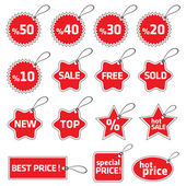 Shopping tag — Stock Vector