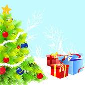 Noel tasarım — Stok Vektör