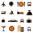 Travel service icon — Stock Vector