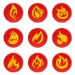 Fire icon — Stock Vector #10660996