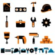 Stock Vector: Tools vector
