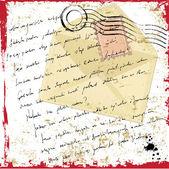Grunge letter — Stock Vector