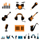Music icon — Stock Vector