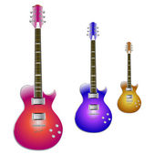 Guitars set — Vettoriale Stock