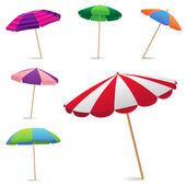 Beach Umbrella — Vettoriale Stock