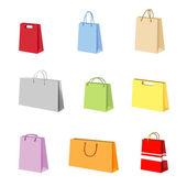 Alışveriş paketi vektör — Stok Vektör