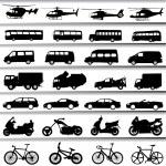 Transportation set — Stock Vector #8252264