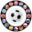 European championship 2008 - Stock Vector