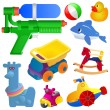 Toy great set — Stock Vector