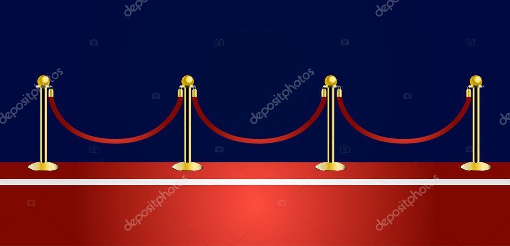 Red carpet vector  Stock Vector #8318827