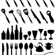 Royalty-Free Stock Vector Image: Set of kitchen tools