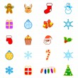 Christmas icon — Stock Vector #8486434