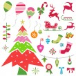 Christmas design element — Stock Vector