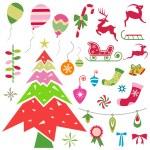 Christmas design element — Stock Vector