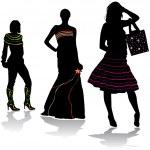 Fashion design — Stock Vector
