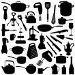 Royalty-Free Stock Vector Image: Kitchen tools